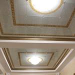 Заливной витраж на потолок