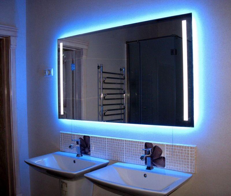 Зеркала с подсветкой фото