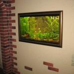 аквариум в багетной раме