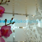 Зеркало-SMC-DSG-017-беcцветное-Цветы-и-квадраты