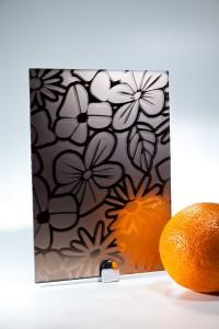 Зеркало Сатин  бронза SMC-014 цветы ромашки