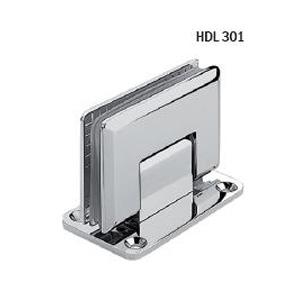 Петля-стекло-стена-центральное-крепление-монтажной-пластины-HDL-301