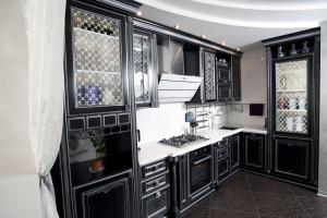 стекло для кухонного фасада с пескостр. рисунком