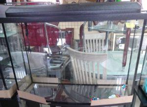 Аквариум - форма Телевизор на 120л
